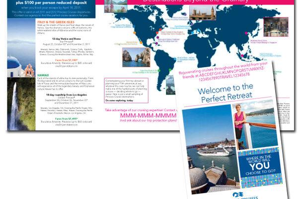 Princess Cruises Mailer